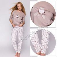 SENSIS piżama damska Sówki, 8709-6336E