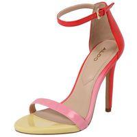 sandały z rzemykami 'caraa' żółty / różowy / czerwony marki Aldo