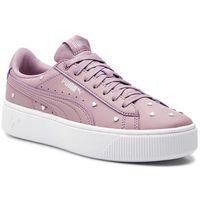 Sneakersy - vikky stacked studs 369636 02 elderberry/elderberry marki Puma