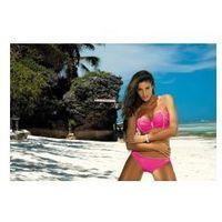Marko Jednoczęściowy strój kąpielowy kostium kąpielowy model sonia bianco m-459 white -