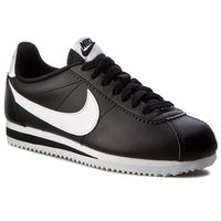 Nike Buty - classic cortez leather 807471 010 black/white/white