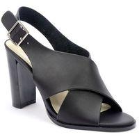 Sandały Monnari BUT0350-020 czarny, w 3 rozmiarach