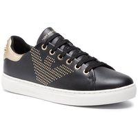 Sneakersy EMPORIO ARMANI - X3X072 XL808 N692 Black/Lt.Gold