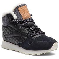 Reebok Buty - cl lthr arctic boot cn3744 black/chalk/camel/pink