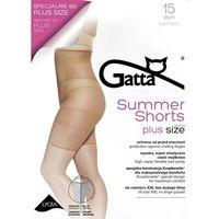 Gatta Szorty summer shorts 15 den 3/4-m/l, beżowy/daino, gatta