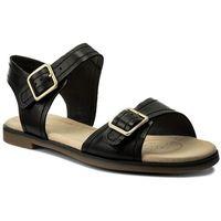 Sandały CLARKS - Bay Primrose 261319344 Black Leather, w 8 rozmiarach