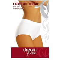 Figi 030 classic maxi 2xl, beżowy, dream of sonia marki Dream of sonia
