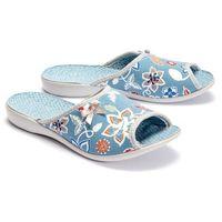 BEFADO 254D 104 VIKI niebieski, kapcie damskie - Niebieski, kolor niebieski