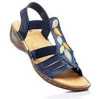 Sandały bonprix ciemnoniebieski, 1 rozmiar