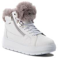 Sneakersy GEOX - D Kaula B Abx D D84AWD 046BH C0672 White/Dk Grey, w 7 rozmiarach