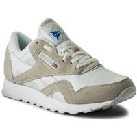 Reebok Buty - cl nylon 6390 white/light grey