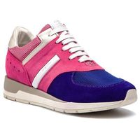 Sneakersy GEOX - D Shahira A D72N1A 00022 CE88K Pink/Dk Violet, kolor różowy