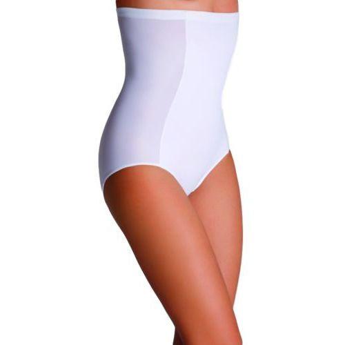 Eldar Vadis majtki korygujące wysokie damskie comfort białe - biały