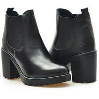 S.oliver Botki 5-25411-27 black/czarne lico
