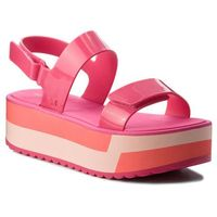 Sandały ZAXY - Slash Plat Sandal Fem 17525 Pink 90063 AA285087 02064, kolor różowy