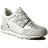 Sneakersy - d shahira a d82n1a 022nf c0626 off white/silver marki Geox