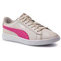 Sneakersy PUMA - Puma Vikky V2 Summer Pack 369113 01 Silver Gray/F Purple/Silver, kolor beżowy