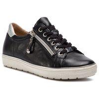 Półbuty CAPRICE - 9-23606-22 Black Nappa 022, kolor czarny