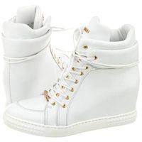 Carinii Sneakersy białe b3733 (ci206-a)