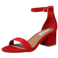 Steve madden sandały z rzemykami 'irenee' czerwony