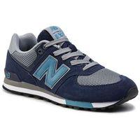 Sneakersy - gc574fnd granatowy szary marki New balance