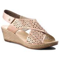 Sandały - 62484-31 rosa marki Rieker