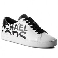 Sneakersy MICHAEL MICHAEL KORS - Irving Lace Up 43T8IRFS1L Opticwht/Blk, kolor biały