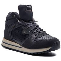 Wrangler Sneakersy - beyond star mid wl182642 anthracite 96
