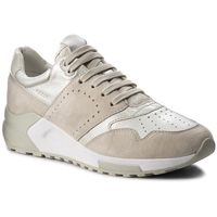 Sneakersy GEOX - D Phyteam A D724DA 022BV C0997 Ivory/Platinum