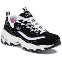 Sneakersy SKECHERS - D'lites Biggest Fan 11930/BKW Black/White, kolor czarny