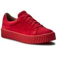Sneakersy - 17111 czerwony w, Nessi, 36-40