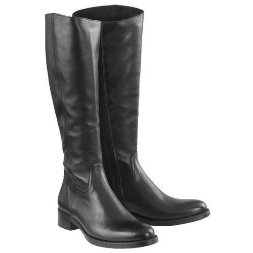 Kozaki Nessi 11735 Czarne 4, kolor czarny