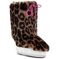 Ocieplacz na obuwie MOON BOOT - Cover Rex Rabbit 140C0V04001 Print Jaguar
