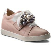 Sneakersy - lusann 31133/482 powder samoa silber corfu weiss perle, Peter kaiser