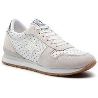 Sneakersy TRUSSARDI JEANS - 79A00322 White/Silver