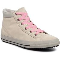 Converse Sneakersy - ctas pc boot hi 665164c natural ivory/costal pink