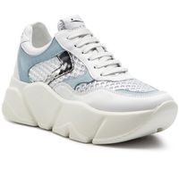 Sneakersy - monster mesh 0012013592.04.1n02 bianco/argento marki Voile blanche