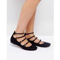 lunge ballet flats - black, Asos