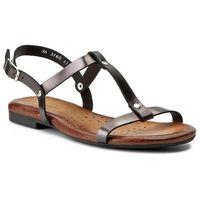 Sandały MACIEJKA - 03160-20/00-0 Czarny Metalik 1
