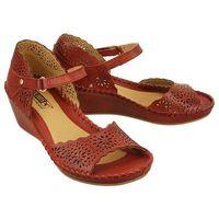 PIKOLINOS MARGARITA 943-0986 sandia, sandały damskie - Czerwony, kolor czerwony