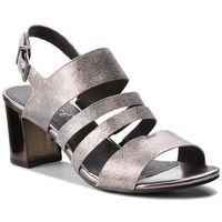 Sandały CAPRICE - 9-28313-30 Silver Sparkle 922