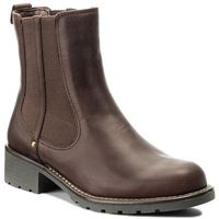 Sztyblety CLARKS - Orinoco Club 261020474 Burgundy Leather, sztyblety