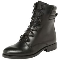 Tommy Jeans Kozaki sznurowane 'PIN LOGO LACE UP BOOT' czarny, kolor czarny