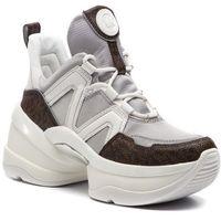 Sneakersy MICHAEL MICHAEL KORS - Olympia Trainer 43R9OLFS6D Silv/Op Wht, 1 rozmiar