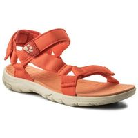 Sandały JACK WOLFSKIN - Seven Seas 2 Sandal W 4022441 Hot Coral, kolor pomarańczowy