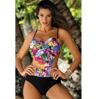 Jednoczęściowy strój kąpielowy Kostium Kąpielowy Model Blanca Nectarine-Nero M-432 Black - Marko (5902768233254)
