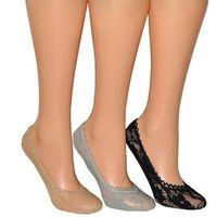 Baletki Rebeka koronka 8041 2535 35-40, biały, Rebeka, kolor biały