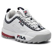 Sneakersy FILA - Disruptor Logo Low Wmn 1010748.1FG White, w 6 rozmiarach