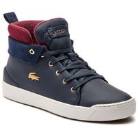 Sneakersy LACOSTE - Explorateur Classic3181CAW 7-36CAW0005B98 Nvy/Off Wht, kolor niebieski