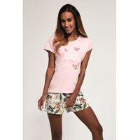 Bawełniana piżama damska Cornette 365/162 Butterfly różowa